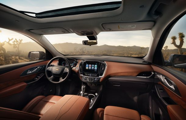 2018 Chevrolet Traverse High Country Interior Image Gm
