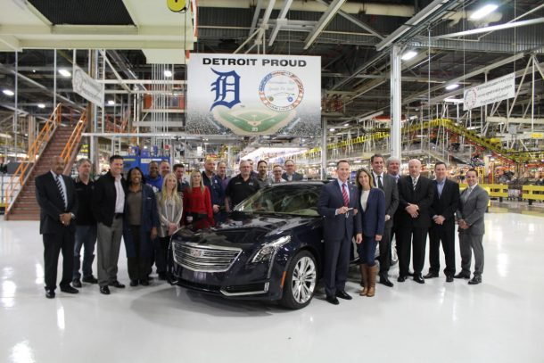 Detroit Hamtramck Assembly Plant Cadillac CT6 - Image: GM