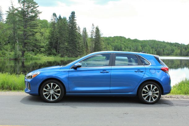 2018 hyundai elantra gt (Image: Steph Willems/The Truth About Cars)