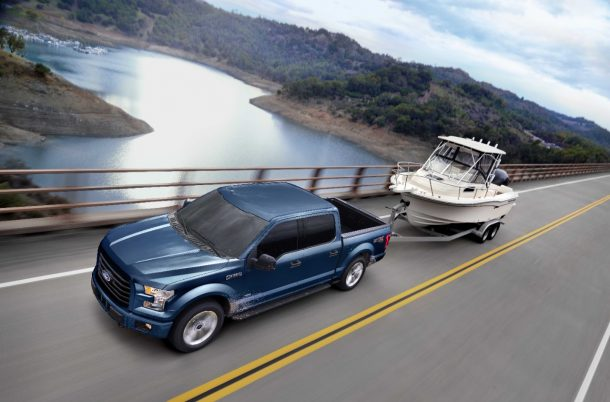 2017 Ford F-150 Towing - Image: Ford