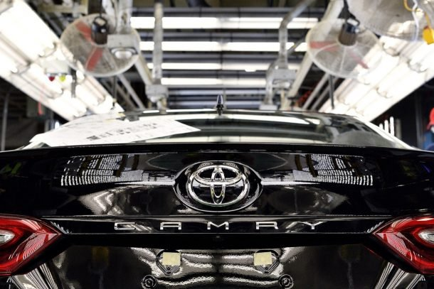 2018 Toyota Camry production line - Image: Toyota