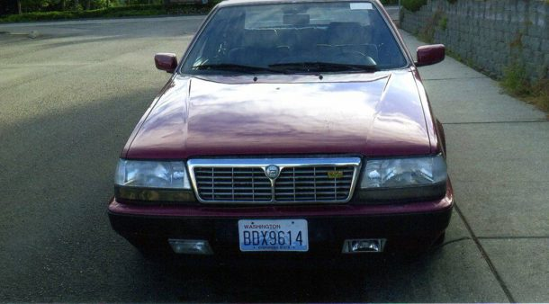 Image: 1991 Lancia Thema 8.32, via seller