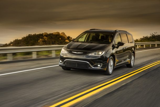 2018 Chrysler Pacifica Touring L Plus - Image: FCA