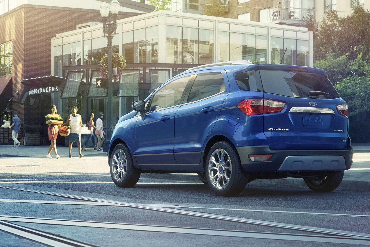 Ford Escape Titanium >> 2018 Ford EcoSport Will Not Be the Cheapest Subcompact ...