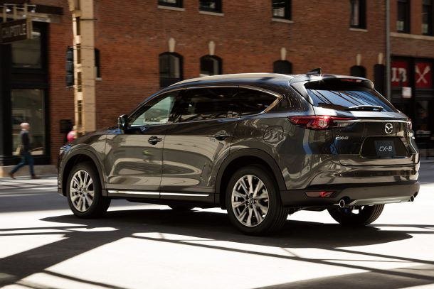 2018 Mazda CX-8 rear - Image: Mazda