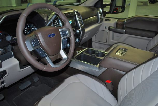 Ford Puts Its Limited Trim On Duty Super Duty That Is
