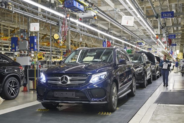 Mercedes Benz Alabama Embly Line Image