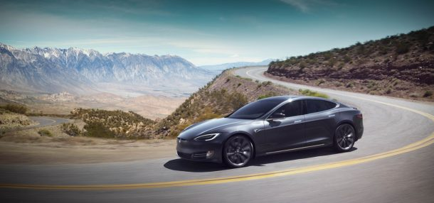 Tesla Model S Grey - Image: Tesla