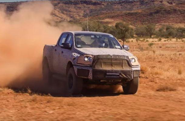 Ford Ranger Raptor, Image: Ford Australia/YouTube