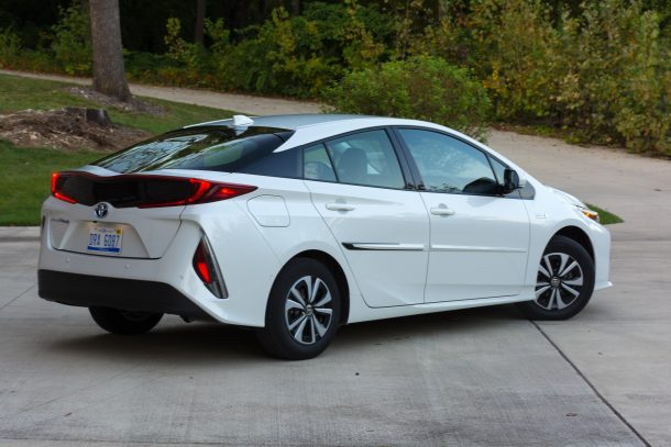 2017 Toyota Prius Prime Advanced Review All Charged Up