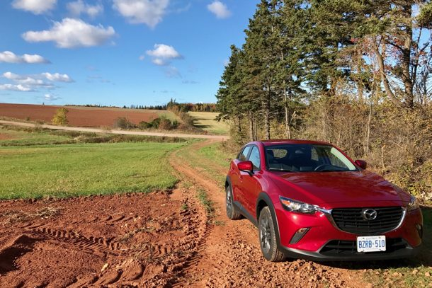 2018 Mazda CX-3 GX Red - Image: © Timothy Cain