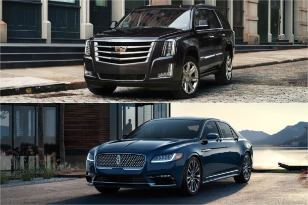 Cadillac Escalade/Lincoln Continental - Images: Cadillac & Lincoln