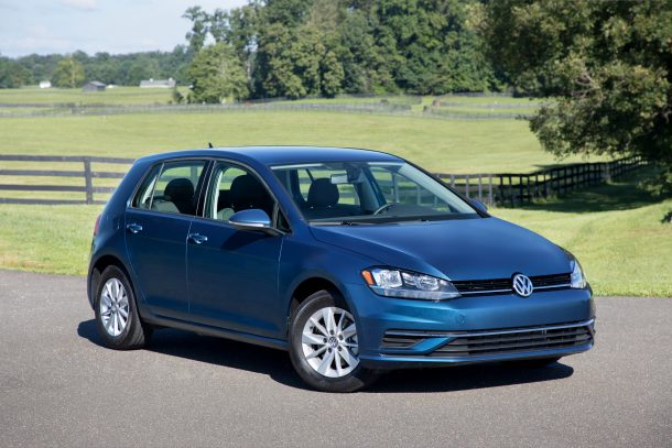 2018 Volkswagen Golf, Image: VW Group