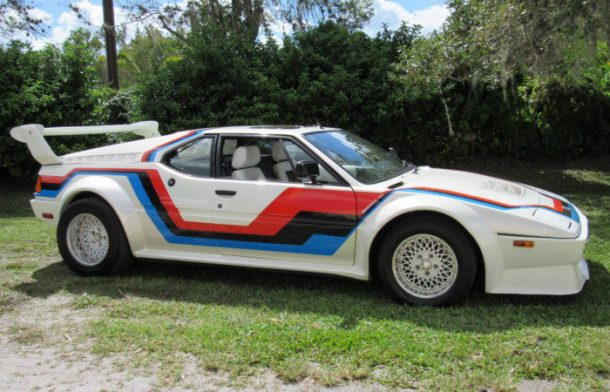 Rare Rides: The 1979 BMW M1: BMW Wants to Race, But Wait a Minute ...