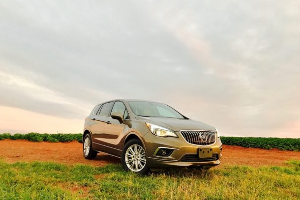 2017 Buick Envision - Image: © Timothy Cain