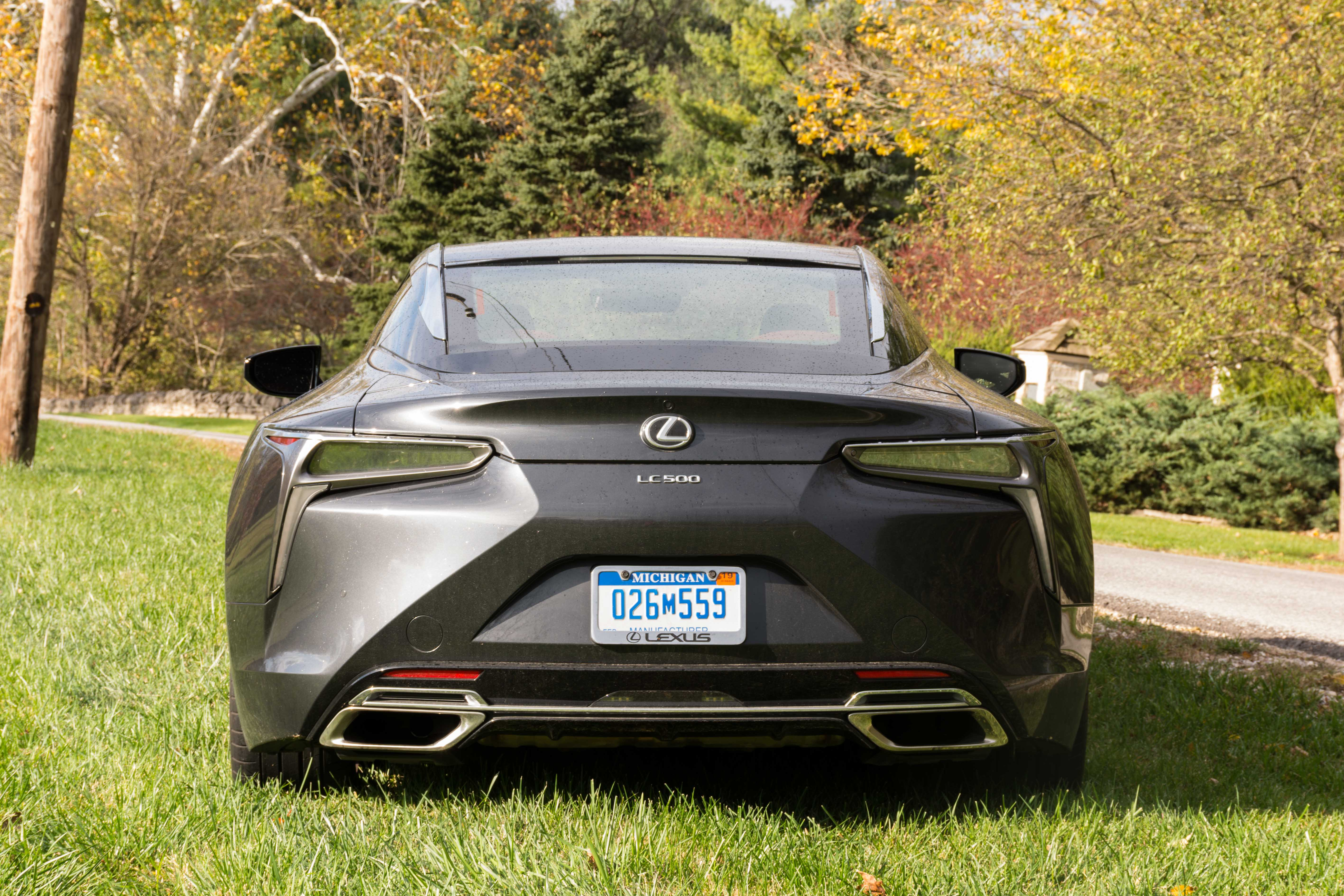 2018 Lexus Lc 500 Review Grabbing Attention From All Sides Wanted