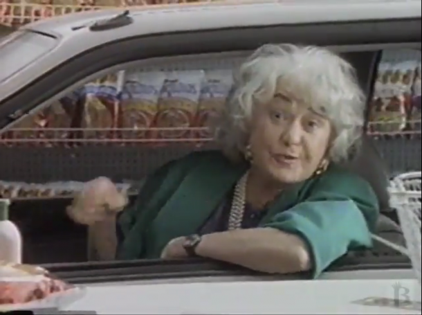 Image: 1990 Advertisement, Drug Mart feat Bea Arthur