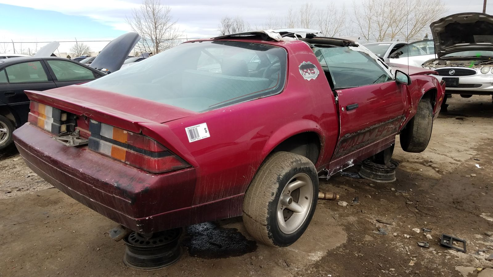 Junkyard Find 1989 Chevrolet Camaro Rs The Truth About Cars
