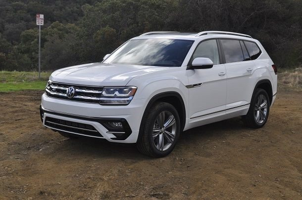 2018 Volkswagen Atlas Sel R Line Review German Comfort
