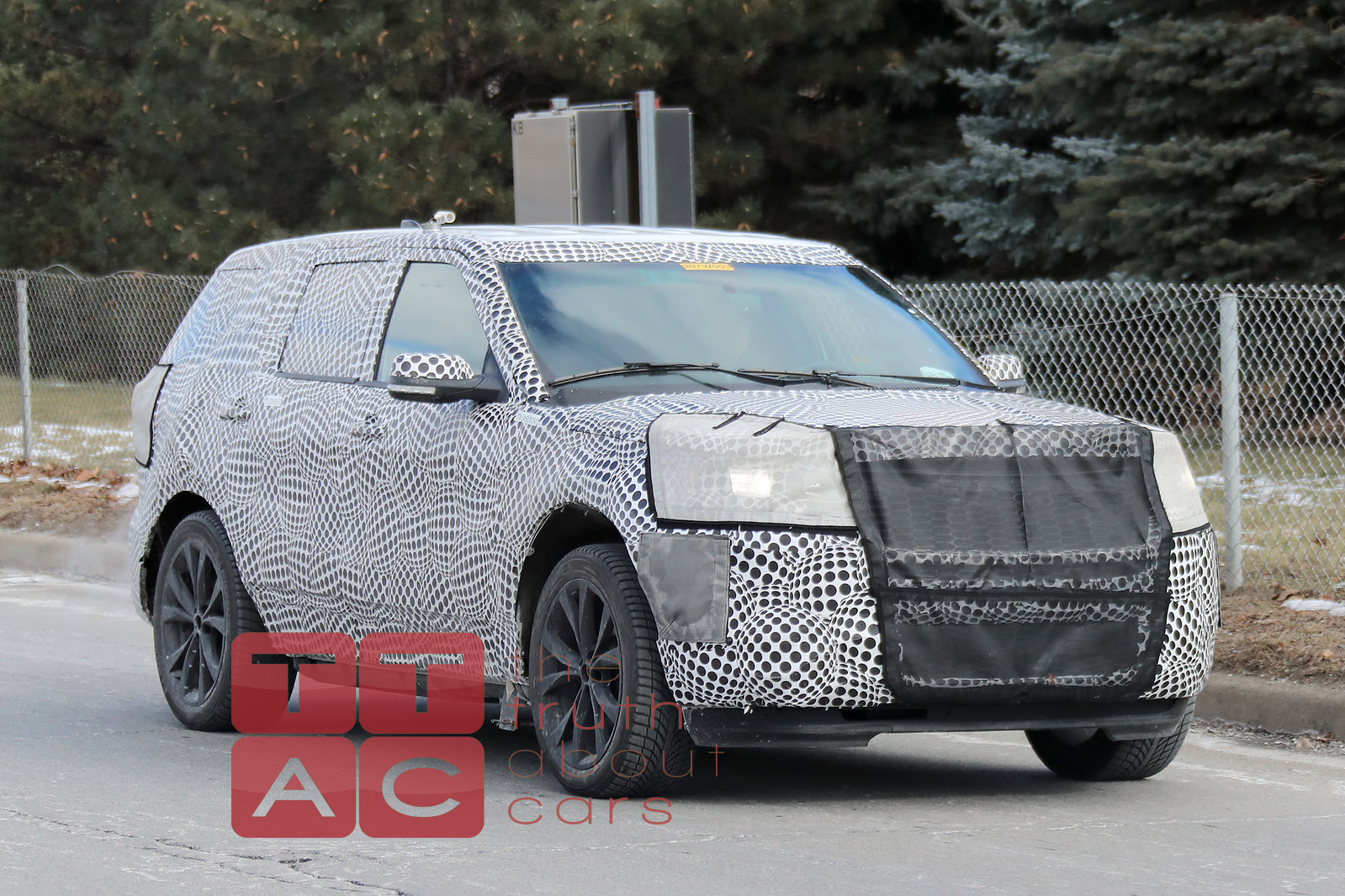 Spied: 2020 Ford Explorer, Possibly in ST Guise - The ...