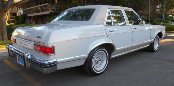 Image: 1976 Mercury Grand Monarch Ghia