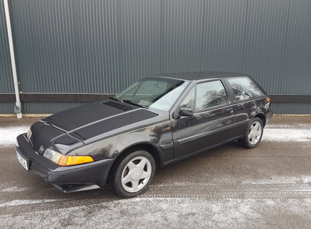 Rare Rides The Volvo 480 Of 1993 Which Doesnt Look Like A Volvo