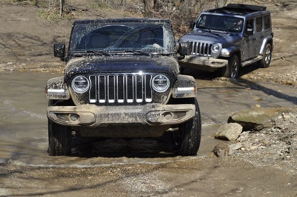 2018 Jeep Wrangler Capable Off-Road