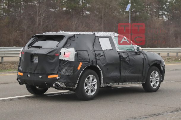 Spied Chevrolets Butch New 2019 Blazer The Truth About Cars