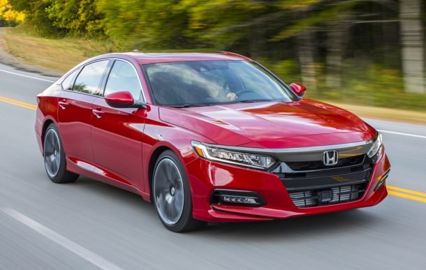 2018 Accord Sport 2.0-Liter Turbo - Image: Honda