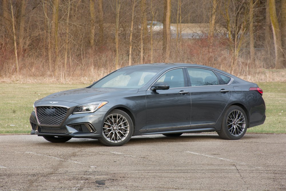 2018 genesis g80 awd 3 3t sport review turn it on again the truth about cars. Black Bedroom Furniture Sets. Home Design Ideas
