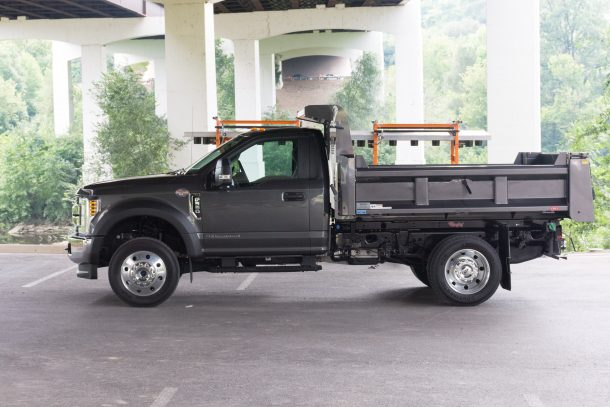 2018 Ford F-550 profile