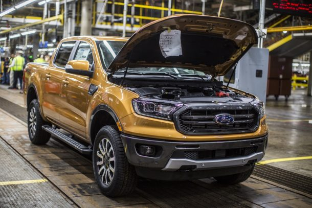 2019 Ford Ranger at MAP - Image: Ford