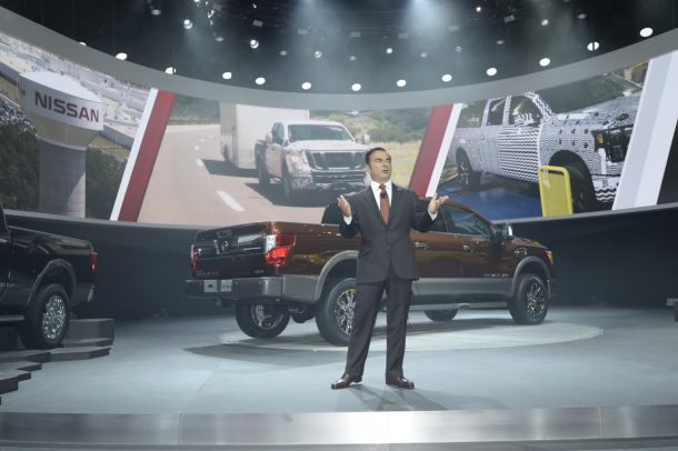 Carlos Ghosn - Titan intro - Image: Nissan