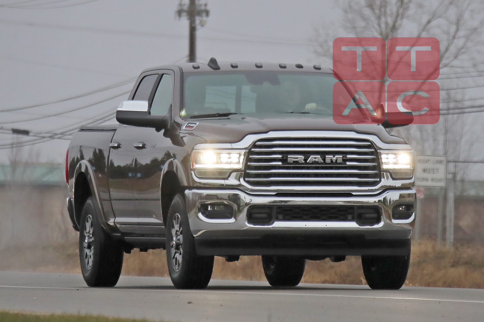 Spied: 2020 Ram HD, Your Conservative Alternative to GM ...