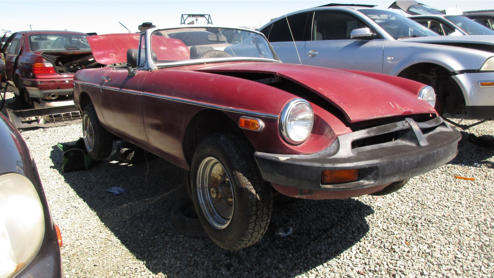 Junkyard Find: 1976 MG MGB - The Truth About Cars