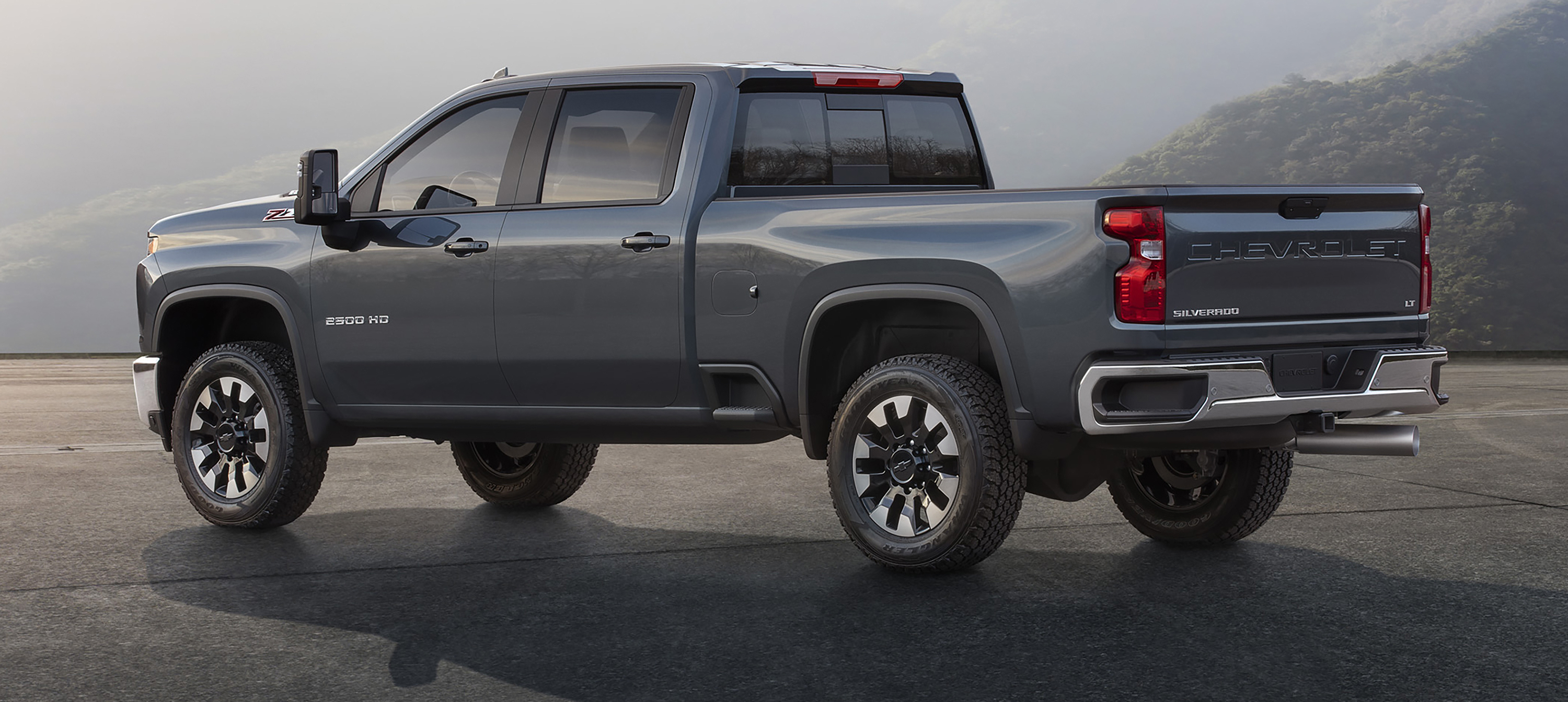 face it this is the 2020 chevrolet silverado hd  the