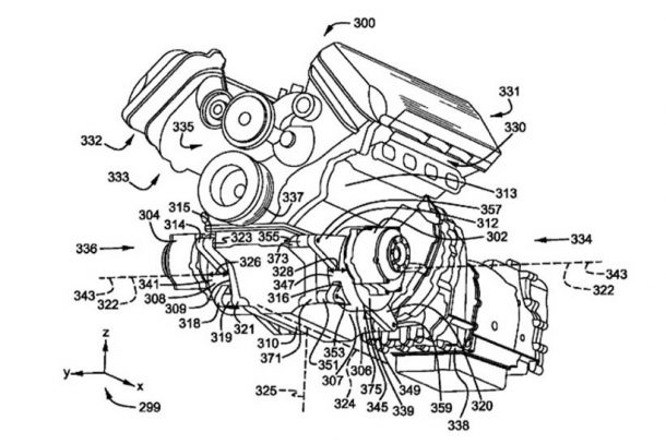 ford patents hybridized v8 could offer glimpse into future product ford is currently on the road to electrification right now the manufacturer is working on an electric crossover based on the mustang and a new hybrid