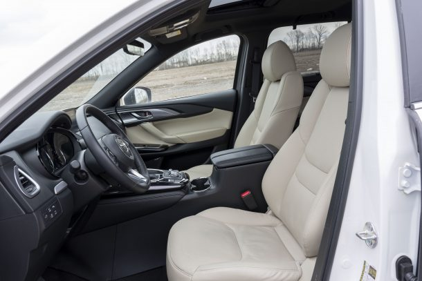 2019 Mazda CX-9 front seat