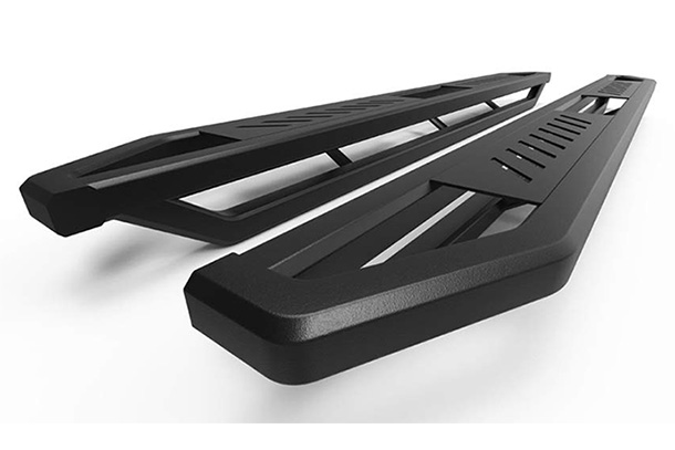 "aps off-road 6.5"" side armor aluminum running boards"
