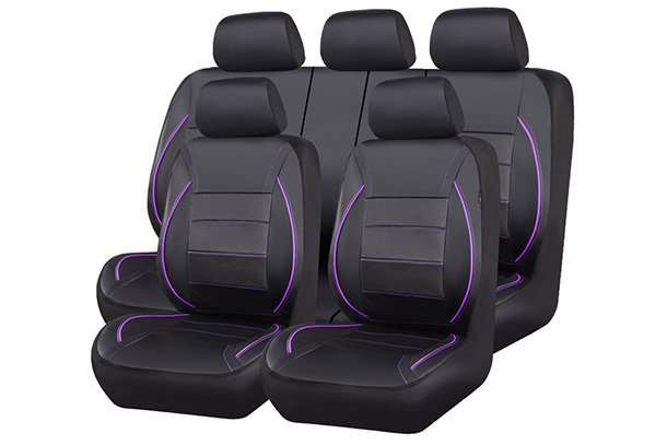 car pass universal fit piping leather car seat covers