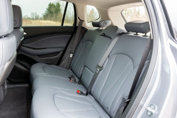 2019 Buick Envision rear seat