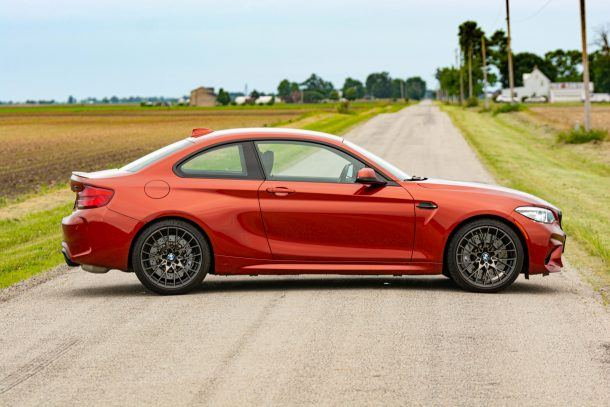2019 BMW M2 Competition profile
