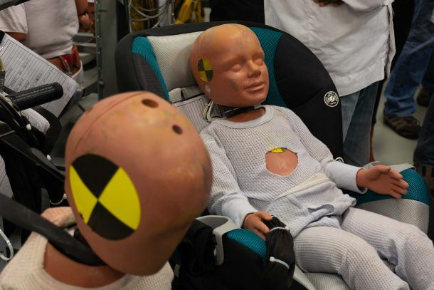 Honda Research baby dummies