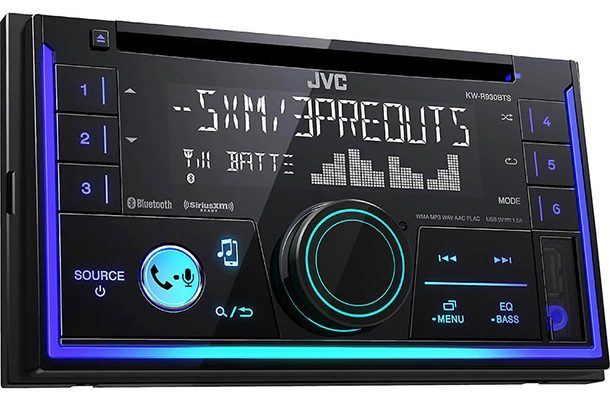 jvc kwr930bt car stereo double din