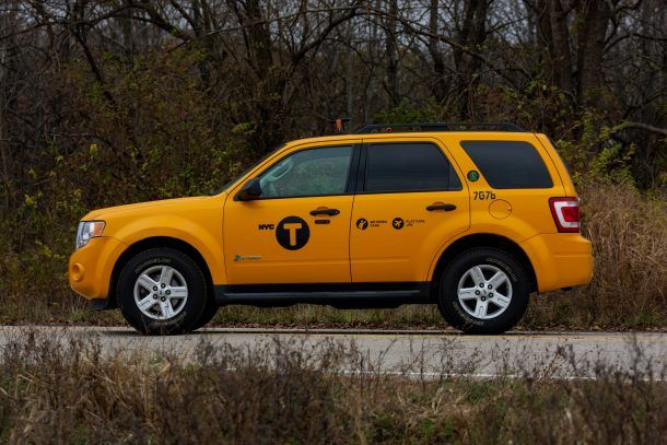 2012 Ford Escape Hybrid Taxi profile