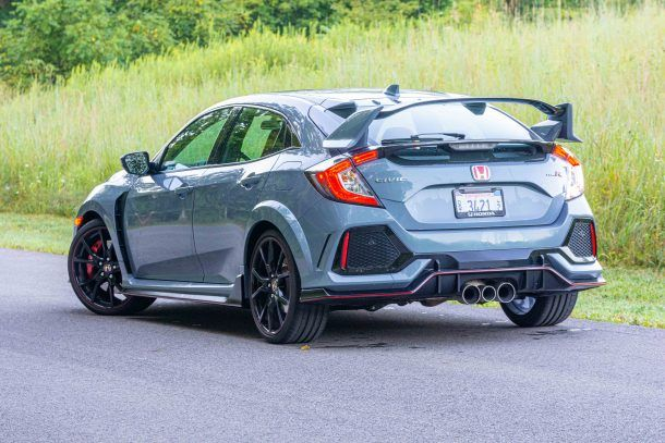2019 Honda Civic Type R rear quarter