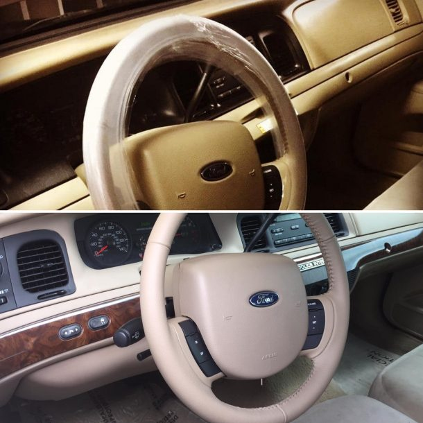 CVPI with Grand Marquis Interior, Image: Sajeev Mehta