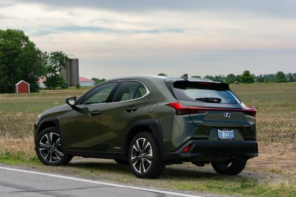 2020 Lexus UX 250h rear quarter