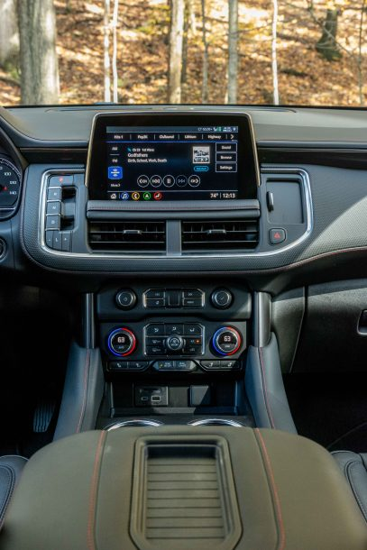 2021 Chevrolet Tahoe center stack